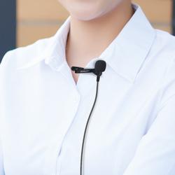 领夹式麦克风迷你小话筒有线台式笔记本电脑K歌录音通用MIC直播吃鸡游戏胸麦耳麦话筒