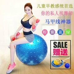 没有不好的味道,球球很好,玩的不亦乐乎__大龙球儿童感统训练按摩球加厚防爆早教触觉球孕妇宝宝健身瑜伽球