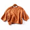 冰点直降1斤I19 秋季七分袖圆领显瘦上衣毛衣C