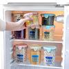 塑料密封储物罐厨房五谷杂粮罐收纳罐家用干果零食透明圆形保鲜盒