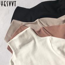 高领打底衫女长袖秋冬白色2018内搭黑色t恤女上衣体恤衫