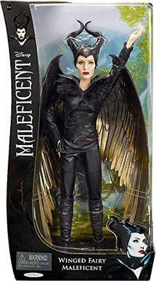 Maleficent Movie 2014 SDCC Exclusive Battle Doll Winged Fair