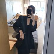 HONGZI chic小西装外套女秋2018职业装黑色ins西服