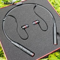Remax颈挂式蓝牙耳机悟空脑后挂脖项圈运动跑步听歌健身无线颈戴双耳入耳式适用苹果重低音耳塞耳麦睿量RB-S6