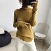 秋冬堆堆领下摆不规则针织衫女2018年冬季基础打底衫