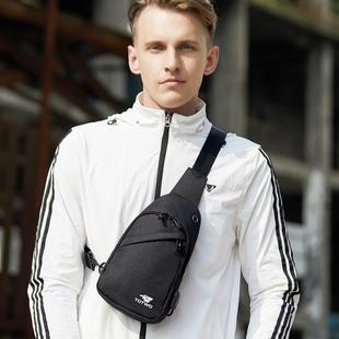 拓途胸包男士包包单肩包休闲ins斜挎包潮牌学生帆布斜跨胸包背包