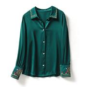 原-YK 507 衬衫-100%醋酸缎