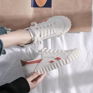 鞋子女2018小白鞋百搭港风板鞋学生欧美风ulzzang运动鞋