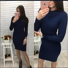 Winter women knitted long dress New sweater 女人的针织连衣裙