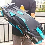 手势感应变形遥控车汽车人充电赛车金刚机器人大号男孩儿童玩具车