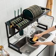不锈钢厨房碗碟盘沥水架洗碗池角架筷筒纳架洗碗架水槽置物架收