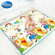 迪士尼宝宝爬行垫xpe加厚2cm家用婴儿爬爬垫儿童无味客厅大地垫