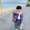 童装男童毛衣春秋款洋气男宝宝春季外套儿童针织开衫韩版小童春装