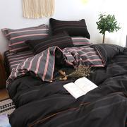 亲肤棉四件套床上用品1.8m被套床单1.5学生宿舍单人三件套1.2米