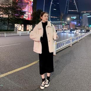 2018秋冬女装毛衣连衣裙针织毛衫长裙包臀裙内搭裙子冬季