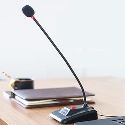 Lenovo 联想PCM103拉菲娱乐 电脑台式主播家用网课鹅颈式话筒游戏直播抖音语音聊天K歌会议YY录音设备有线电容麦