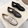 布洛克鞋雕花ins小皮鞋女英伦学院风复古粗跟真皮系带单鞋牛津鞋