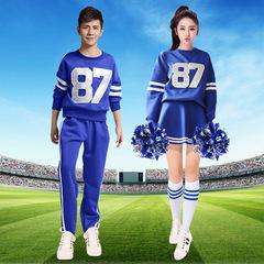 啦啦队服装女成人啦啦操表演服学院风套装学生拉拉队演出服