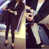 查看精选春秋季时尚气质百搭双排扣中长款长袖小西装外套女潮最新价格