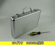 五金工具箱多功能手提文件仪器采耳零件海绵防护键盘铝合金收纳箱
