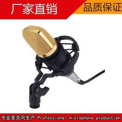 BM-700大震膜电容尊龙棋牌app 套装酷狗唱吧yy主播电脑K歌录音话筒
