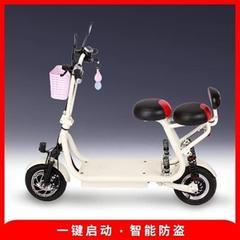 YIDI一迪电动滑板n车小型折叠锂电车两轮步代车踏板车迷你小电动3