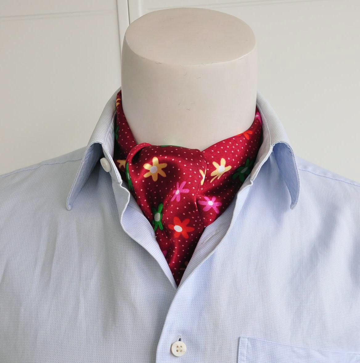Шарф под рубашку 2