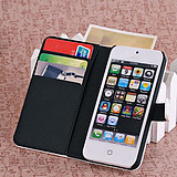 Apple iphone5 the cellphone holster iphone5 about money style protective cover bracket shell
