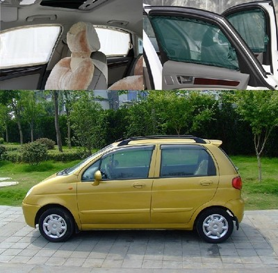 Chevrolet Aveo wing Mai Special Purpose Vehicle curtain side window shades block orbital vehicle tail curtains