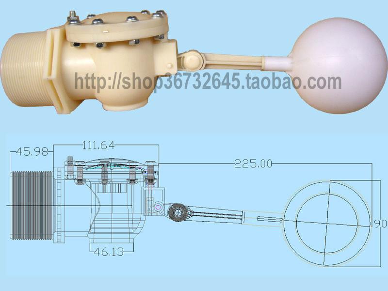 !DN65! 2寸半浮球阀大流量  浮球阀*水箱浮球阀
