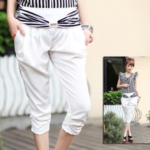 2011 summer new models in Europe and America was thin chiffon harem pants casual summer women Pants