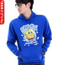 Pinot lovers 2013 new spring coat Korean version of SpongeBob hooded sweater women couple