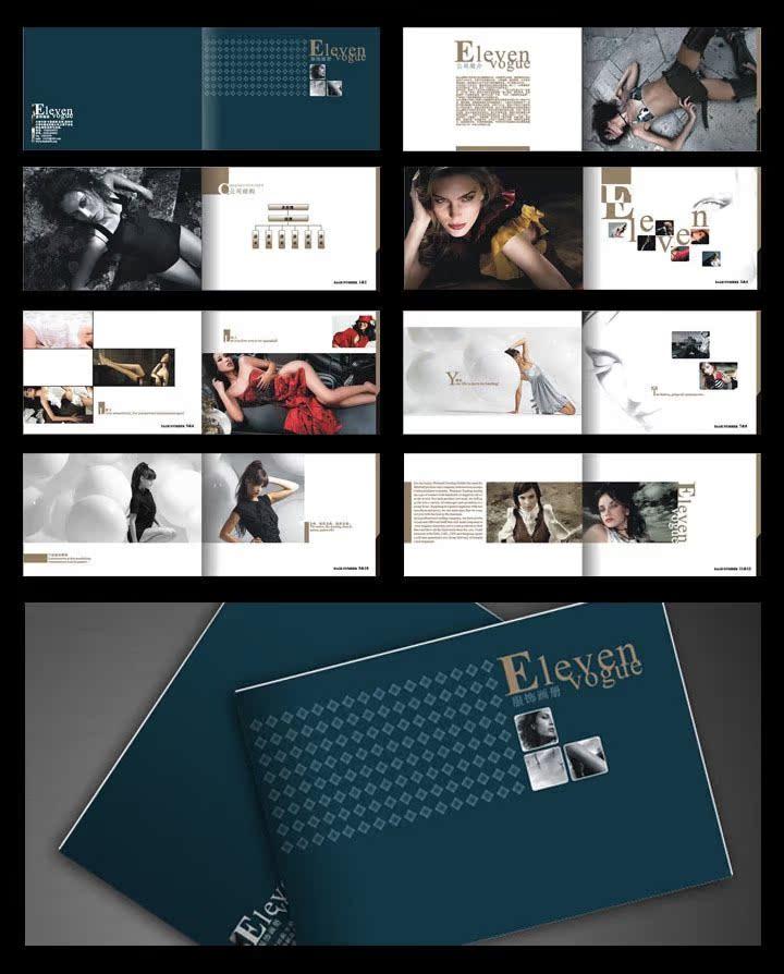 服装画册专业设计 品牌形象册图片