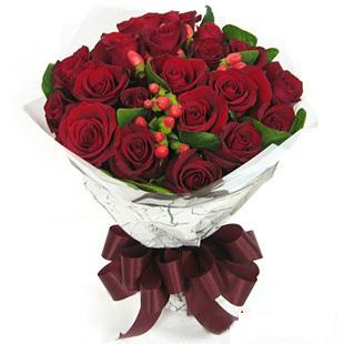 21朵红玫瑰 宁波鲜花店 宁波花店 生日鲜花 同城鲜花 速度配送