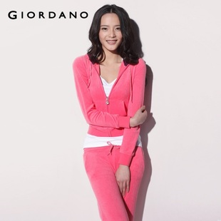 Hot recommend Giordano Jacket Women's lion in  summer Terry Wang Yin Hat chest medical clothing 01371400