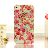 2012 Korean version of the Apple the 44s the cellphone shell Dielianhua rhinestones iphone44s mobile protective cover case