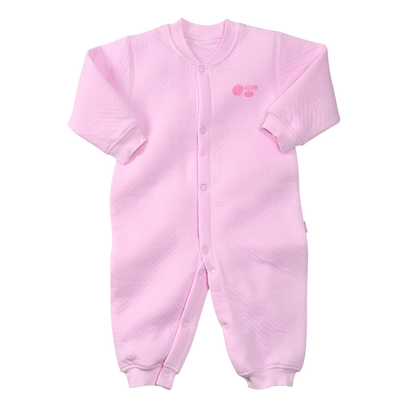 宝宝衣服保暖内衣婴儿连体衣117纯棉长袖中性长爬冬季