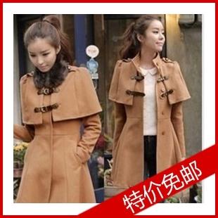 женское пальто 678 2012 Зима 2011 Средней длины (65 см <длины одежды ≤ 80 см) Корейская версия Длинный рукав Классический рукав