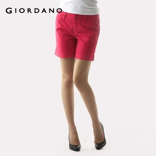 Hot recommend Giordano shorts women's wild in summer and comfortable stretch shorts 01400071