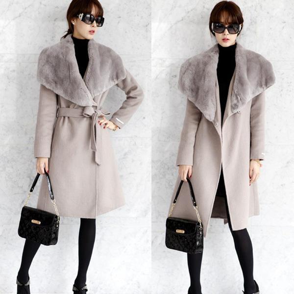 женское пальто 580531850m 2012 Зима 2012 Длинная модель (80 см<длина изделия ≤ 100 см) Длинный рукав Классический рукав