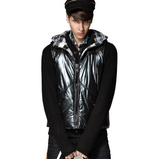 ING2ING han edition even cap two-sided wear, cotton vest, 080311403