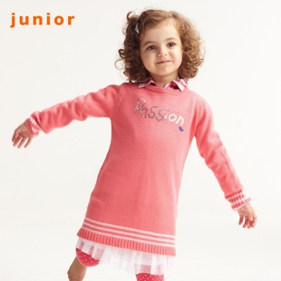 2012 Giordano knit shirts girls beautiful round neck beads embroidery wool coat 03351502