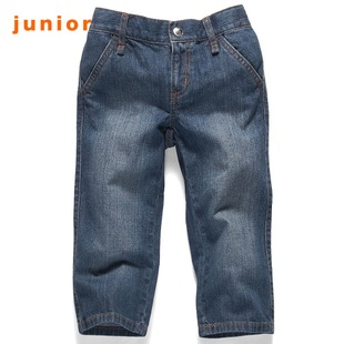 Hot recommend Giordano shorts for girls in summer and comfortable jeans stretch of seven straight tube 03420033