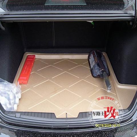 Коврик для багажного отделения 正品大马路3d立体尾箱垫 科鲁兹 尾箱垫 克鲁兹 专用 后备箱垫