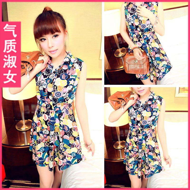 Женское платье Temperament lady 2447q473 2012 Q473 Лето 2012 Другое