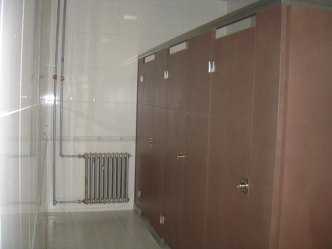 超市卫生间隔断复古卫生间隔断图片9
