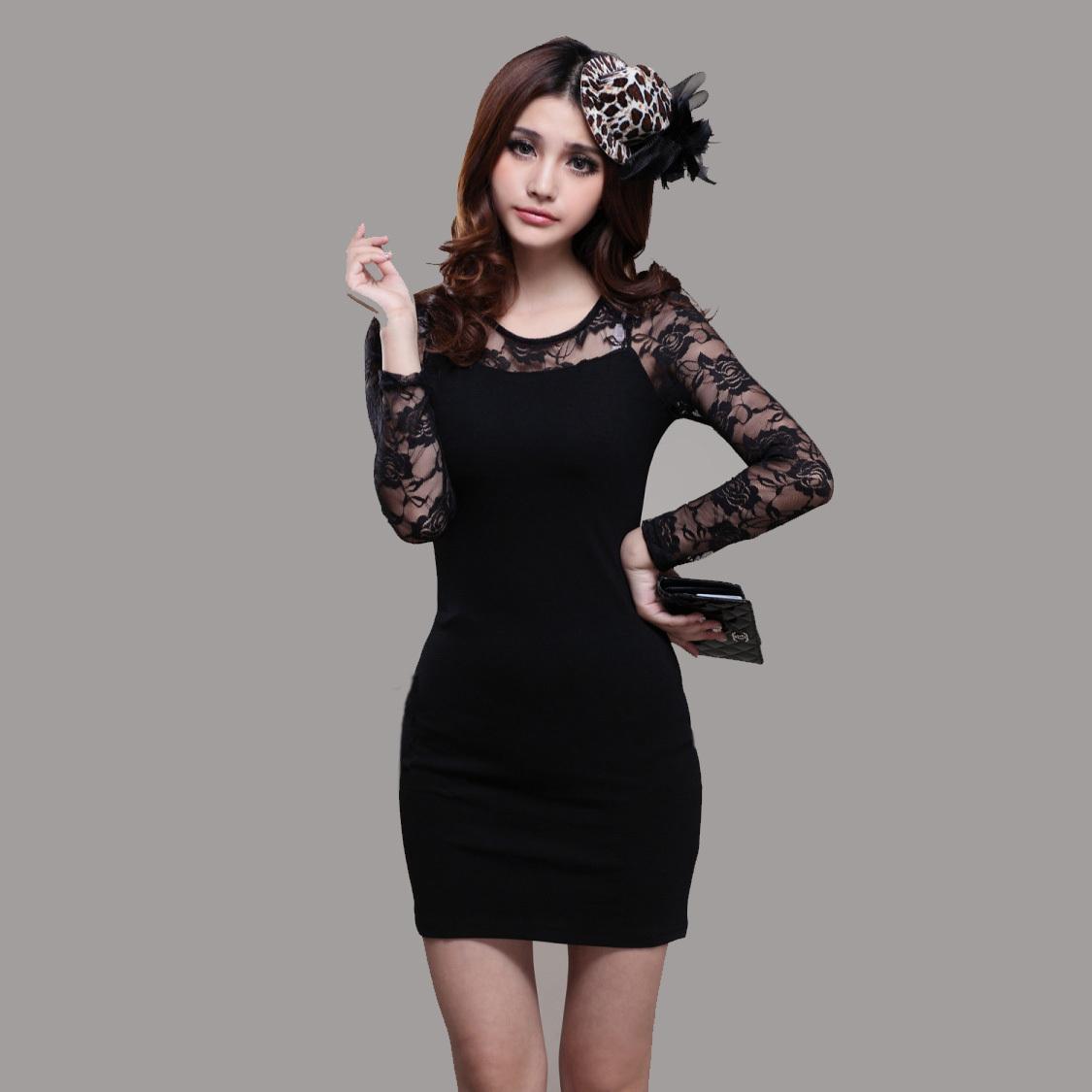 Женское платье Ms/sz J/8253a Осень 2012 Кружево
