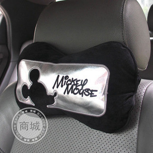 Genuine NAPOLEX Disney miqiweini Car headrest car neck pillow pillow WD-166