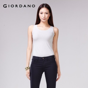 Giordano t-shirts in summer 2012 new Rainbow color dress vest 01330020