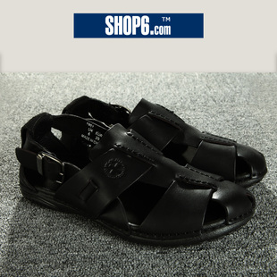 3,465 ★ shop Shop6, 6th men's 2012 new style leather casual flat with Europe and sandals